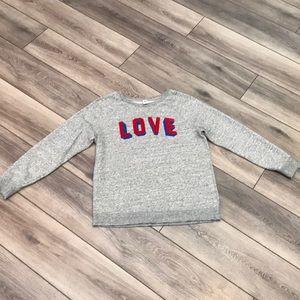 Old Navy Love sweatshirt